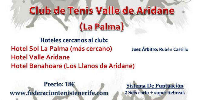 3er Torneo XI Circuito Benjamín – Cuadros y Horarios