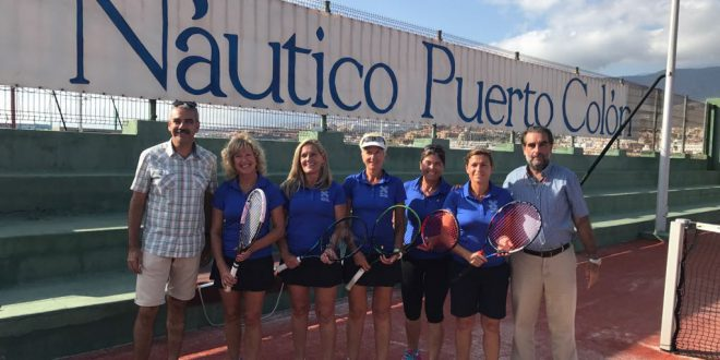 Club Náutico Puerto Colón Campeón Veteranas +35
