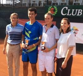 Javier Cueto Campón en Dobles Campeonato de España Cadete