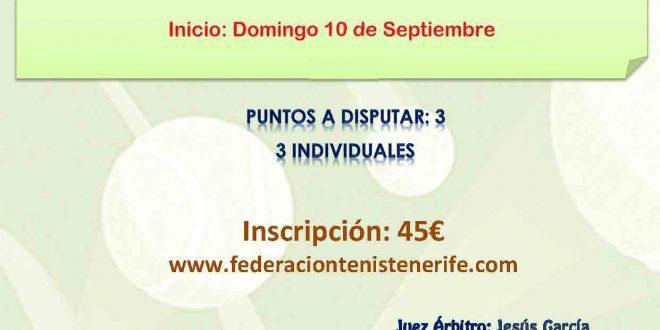 Campeonato por Equipos Benjamín Femenino -CALENDARIO Y EQUIPOS