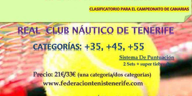 """Campeonato Veteranos de Tenerife """"Memorial Cesareo Delgado"""" – Cuadros y Horarios"""