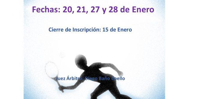 1º Torneo XII Circuito Benjamín