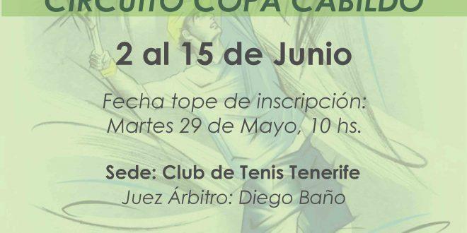 2º TORNEO XXIV CIRCUITO COPA CABILDO – CUADROS