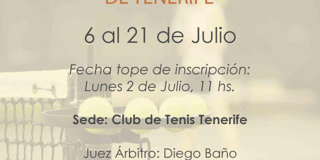 Campeonato Absoluto de Tenerife – CUADROS