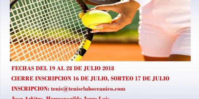 Torneo Open Gran Poder 2018