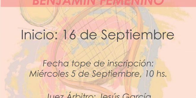 Campeonato por Equipos Benjamín Femenino