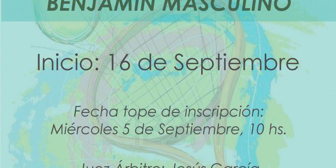 Campeonato por Equipos Benjamín Masculino