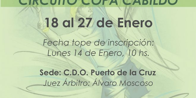 1º Torneo XXV Circuito Copa Cabildo – CUADROS