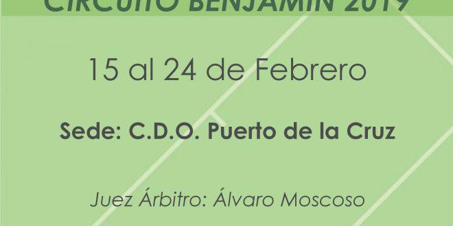 2º Torneo XIII Circuito Benjamín – CUADROS