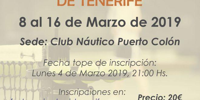 Campeonato Junior de Tenerife 2019