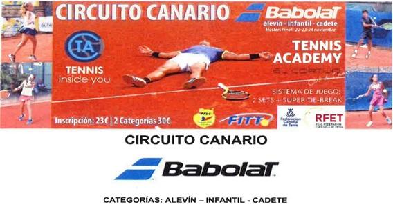 III Etapa Circuito Canario Babolat