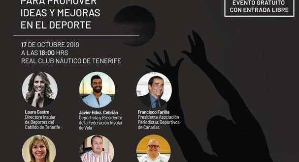 INVITACIÓN A FORO «DEPORTES TALKS» 17 DE OCTUBRE RC. NÁUTICO DE TENERIFE