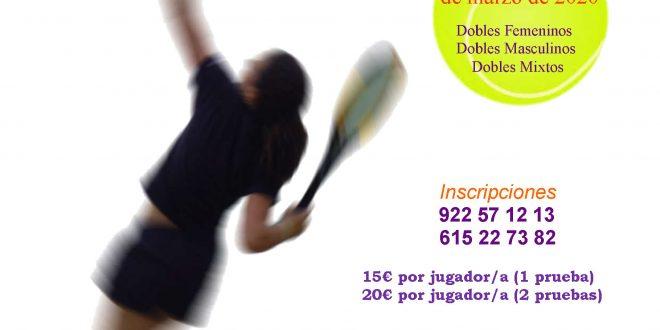 XIII Trofeo Memorial de Tenis – Complejo Deportivo El Sauzal