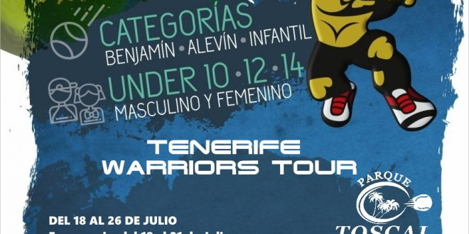 Tenerife Warriors Tour 2020 – Parque Toscal Tenis y Padel
