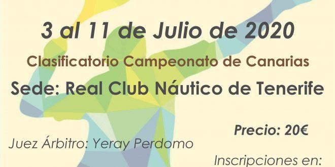 Campeonato de Tenerife Infantil «Manuel Alonso» 2020 – SAUL PACHECO y VICTORIA TOGORES Campeones