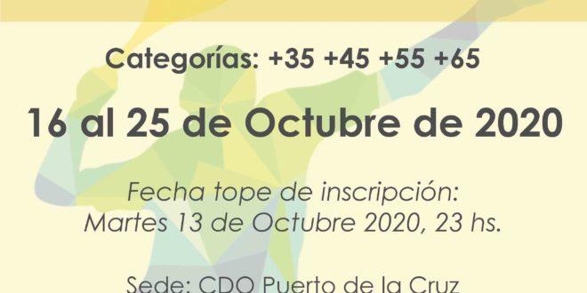 Campeonato Veteranos de Tenerife 2020