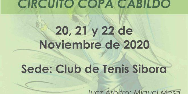 Master Circuito Copa Cabildo – CUADROS y HORARIOS