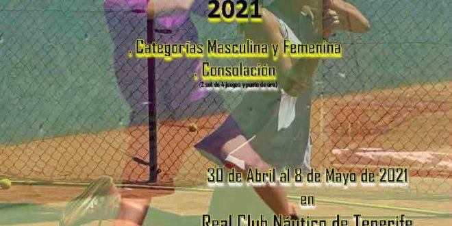 """Campeonato de Tenerife Infantil """"Manuel Alonso"""" – CUADROS y HORARIOS"""