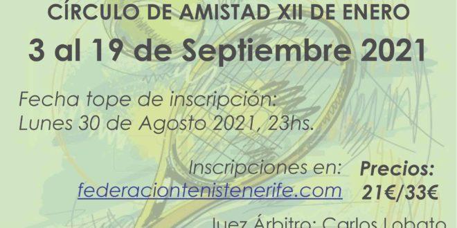 2º Torneo III Circuito FITT – ENTREGA DE TROFEOS. Asistencia Obligatoria
