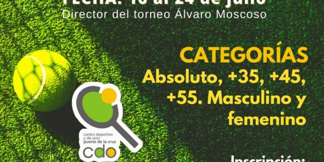 Torneo de Verano CDO Puerto de la Cruz