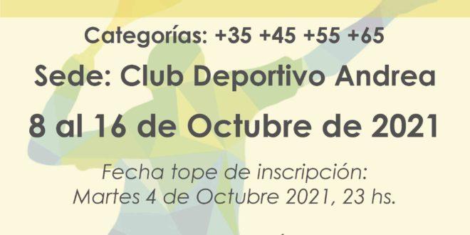 Campeonato Veteranos de Tenerife 2021 – CUADROS