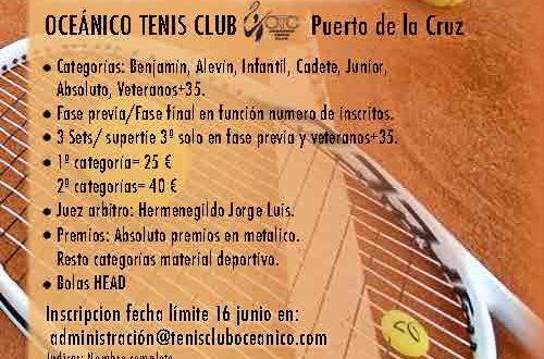 Torneo de Tenis Open Gran Poder 2021